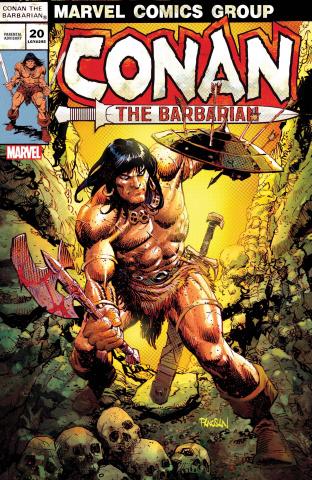 Conan the Barbarian #20 (Panosian Cover)