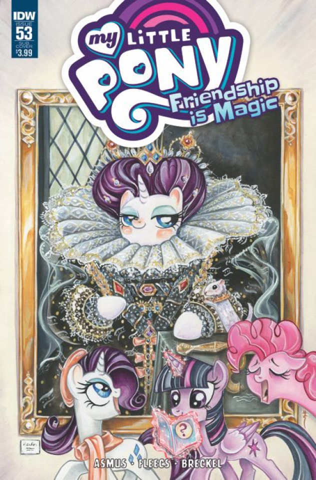 My Little Pony: Friendship Is Magic #53 (Subscription Cover)