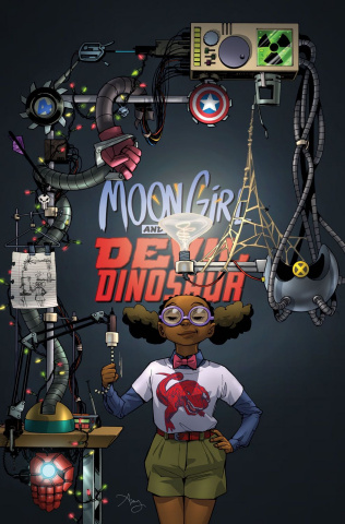 Moon Girl and Devil Dinosaur #13