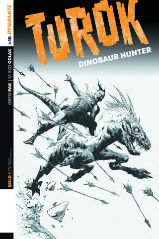 Turok: Dinosaur Hunter #10 (25 Copy Lee B&W Cover)