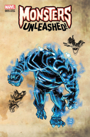 Monsters Unleashed! #5 (Kubert Monster Cover)