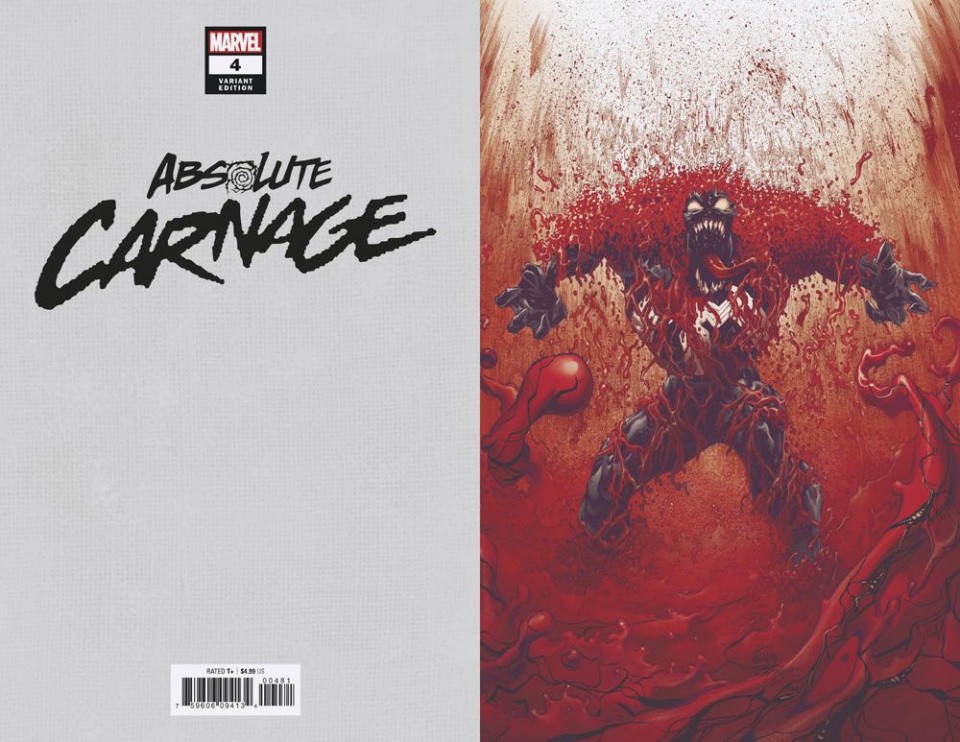 Absolute Carnage #4 (Stegman Virgin Cover)