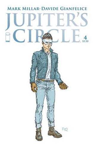Jupiter's Circle #5 (Quitely Character Design Cover)
