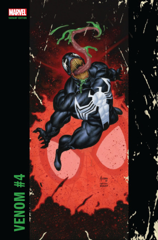 Venom #4 (Jusko Corner Box Cover)