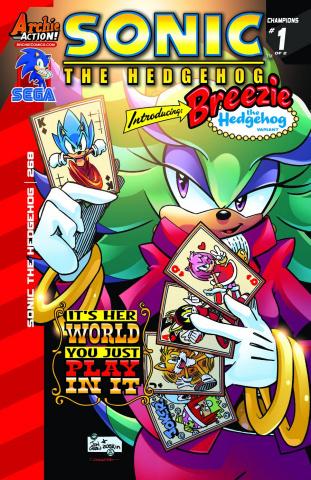 Sonic the Hedgehog #268 (Breezie Cover)