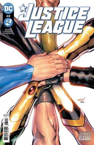 Justice League #62 (David Marquez Cover)
