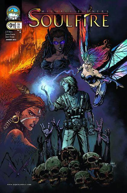 Soulfire #6 (Fabok Cover)