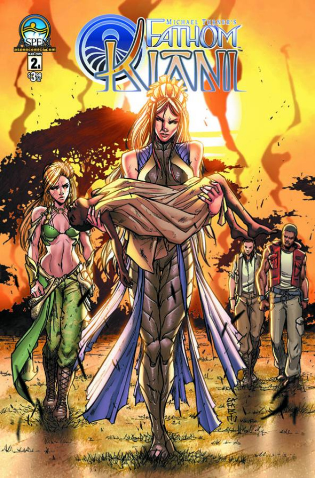 Fathom: Kiani #2 (Direct Market Cover A)