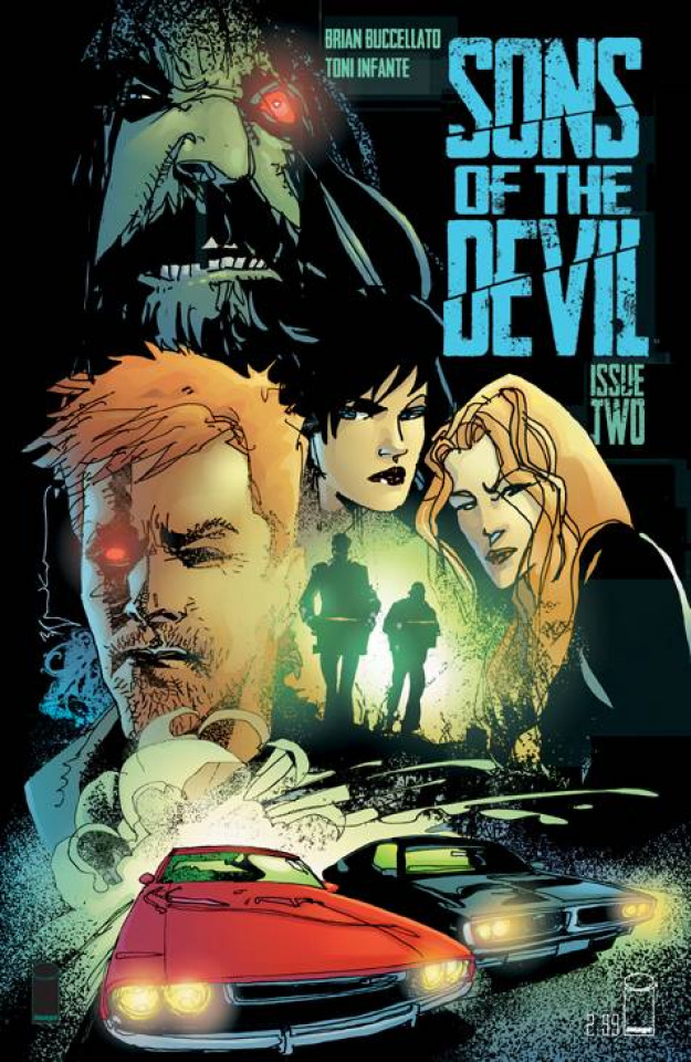 Sons of the Devil #2 (Sienkiewicz Cover)