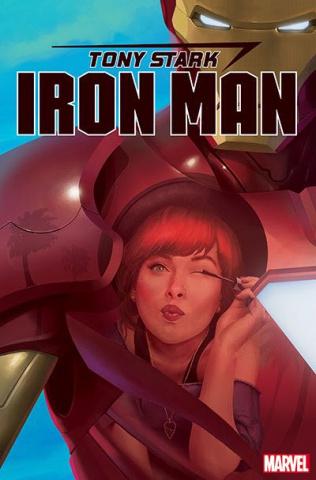 Tony Stark: Iron Man #17 (Rahzzah Mary Jane Cover)