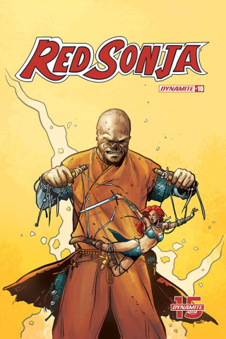 Red Sonja #10 (Colak Cover)