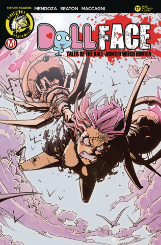 Dollface #17 (Maccagni Tattered & Torn Cover)