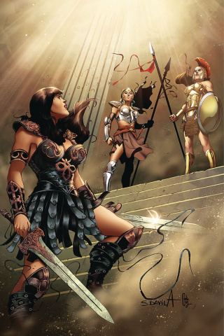 Xena #10 (10 Copy Davila Virgin Cover)