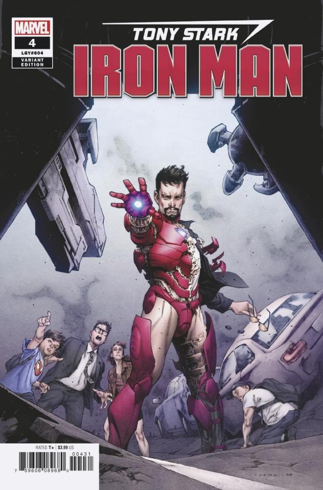 Tony Stark: Iron Man #4 (Opena Cover)