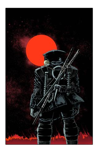 Teenage Mutant Ninja Turtles: The Last Ronin #1 (Eastman / Kuhn Cover)