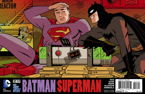 Batman / Superman #17 (Darwyn Cooke Cover)