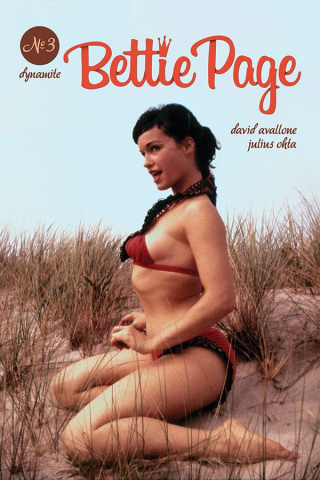 Bettie Page #3 (Photo Cover)