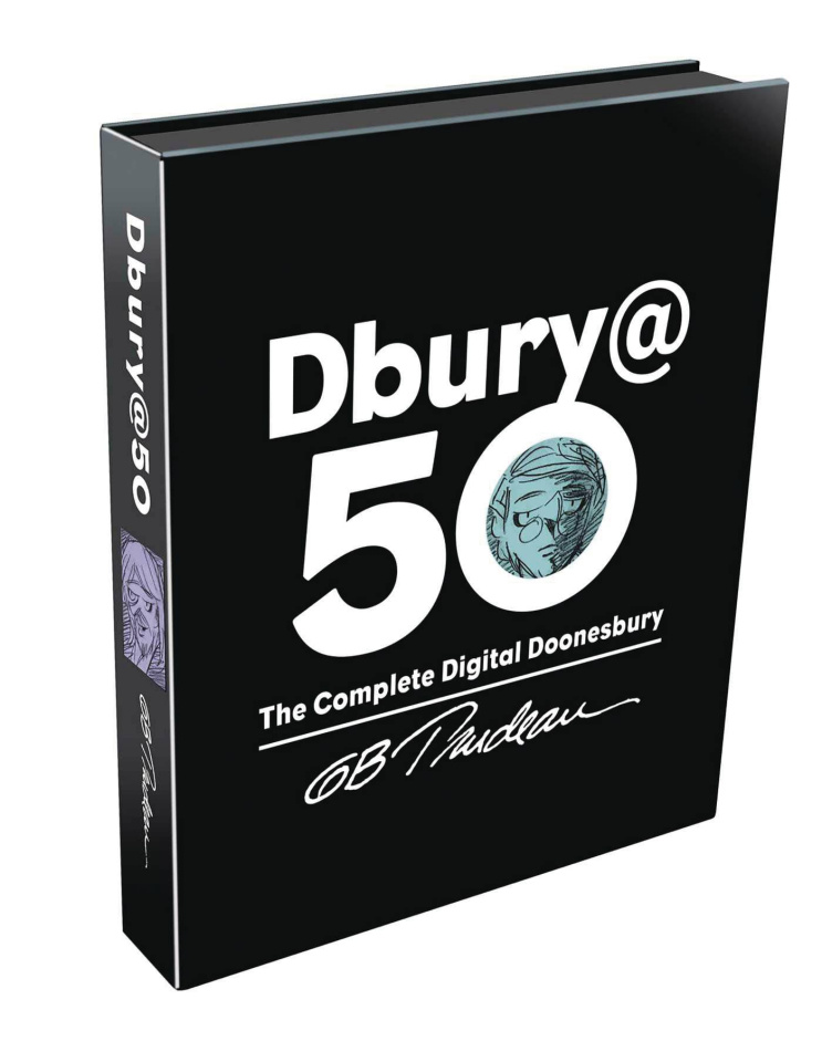 Dbury @ 50: The Complete Digital Doonesbury