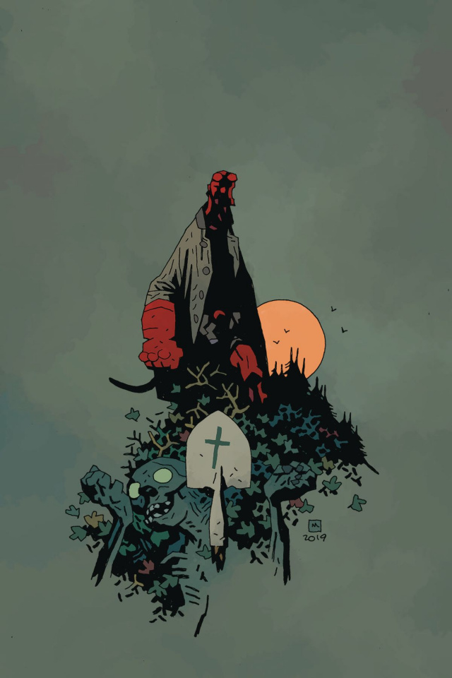 Hellboy and the B.P.R.D.: The Return of Effie Kolb #1 (Mignola Cover)
