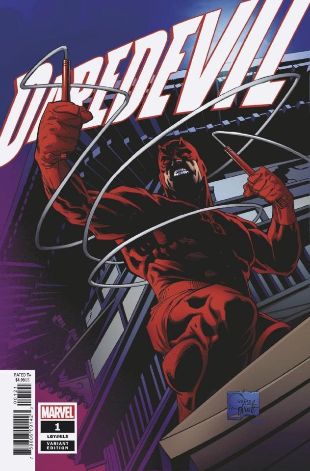 Daredevil #1 (Quesada Hidden Gem Cover)