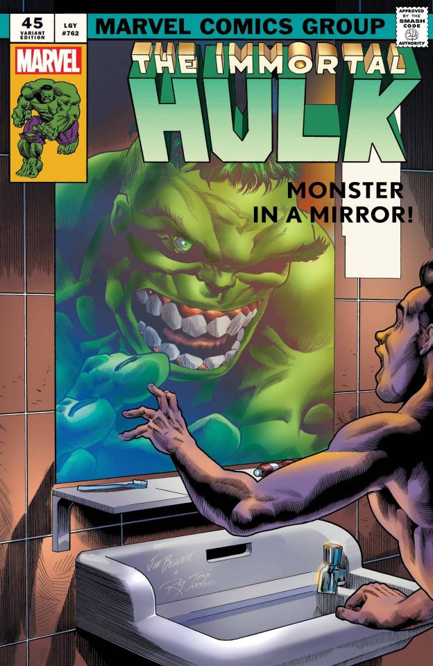 The Immortal Hulk #45 (Bennett Homage Cover)