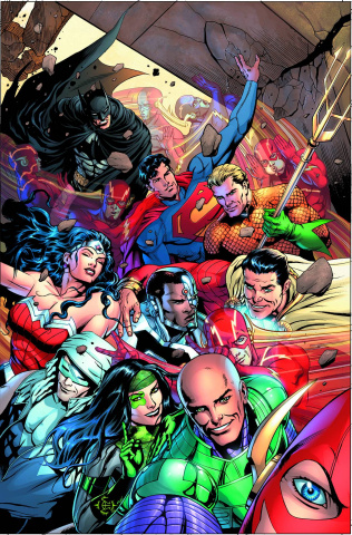 Justice League #34 (Selfie Cover)