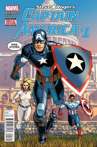 Captain America: Steve Rogers #1 (Saiz 2nd Printing)