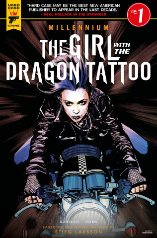 The Girl with the Dragon Tattoo #1 (Coker Cover)