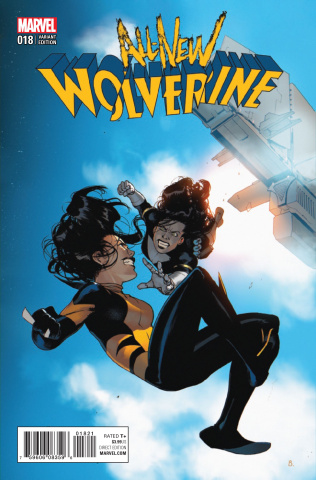 All-New Wolverine #18 (Bengal Connecting Cover)