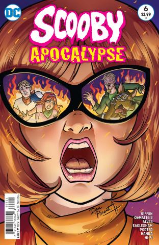 Scooby: Apocalypse #6 (Variant Cover)
