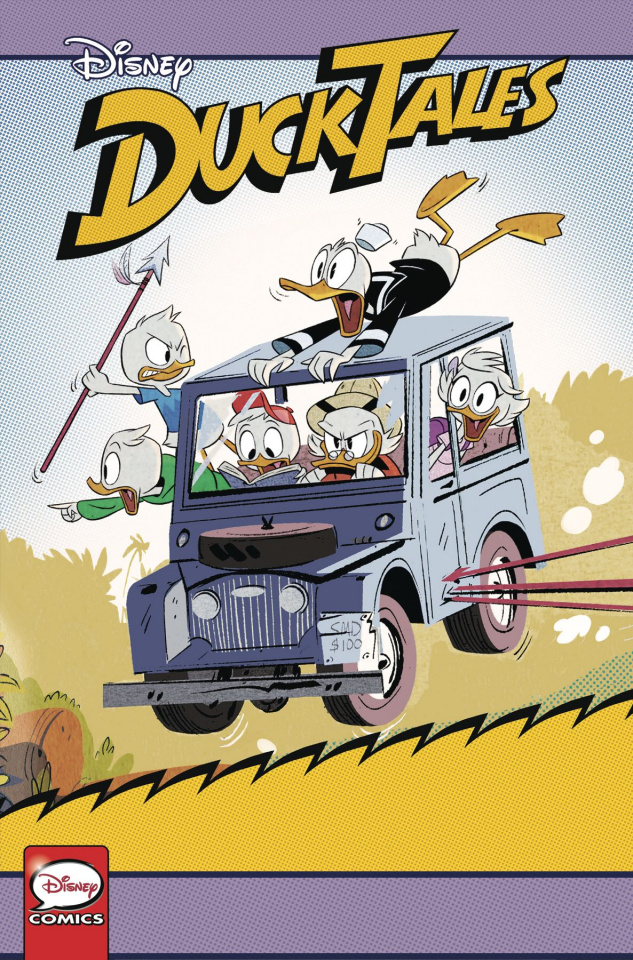 DuckTales: Silence and Science #3 (Cover B)