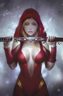 Grimm Fairy Tales: Red Riding Hood 10th Anniversary Special #2 (Meguro Cover)
