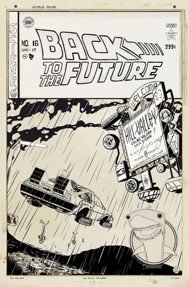 Back to the Future #16 (Artist Edition)