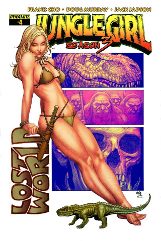 Jungle Girl, Season 3 #4 (Cho Cover)