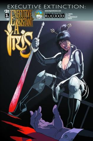 Executive Assistant Iris #3 (Qualano Cover)