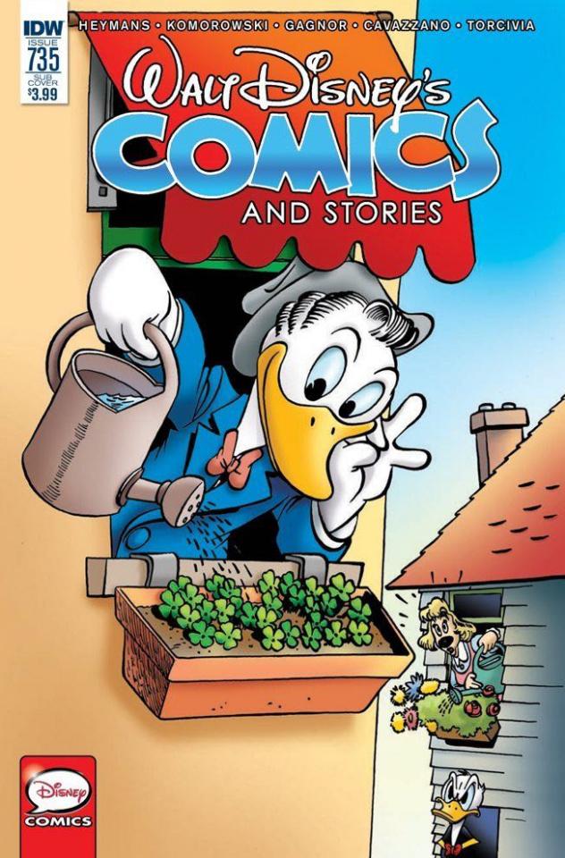 Walt Disney's Comics and Stories #735