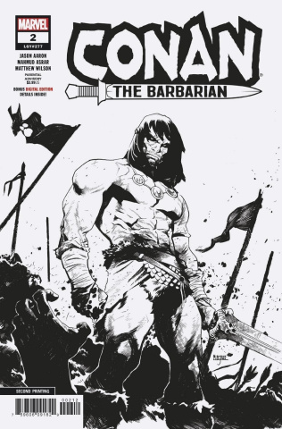 Conan the Barbarian #2 (Asrar 2nd Printing)
