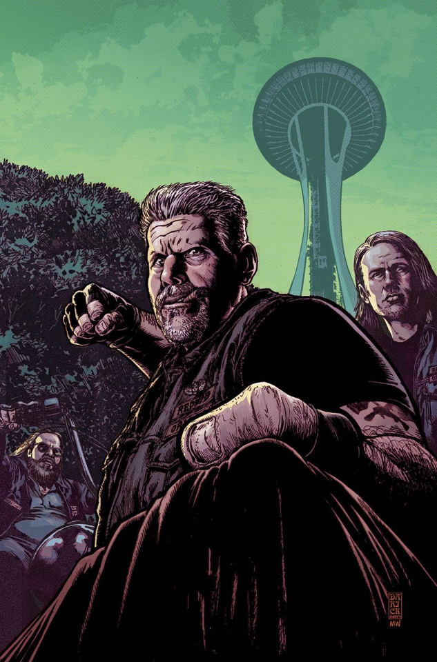 Sons of Anarchy #7 (ECCC Cover)