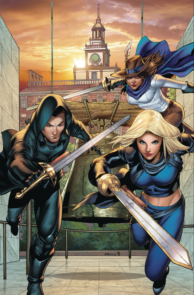 Musketeers #3 (Atkins Cover)