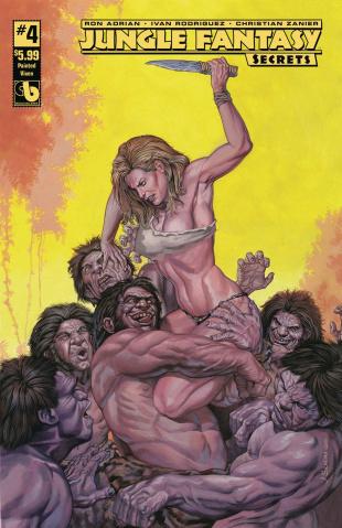 Jungle Fantasy: Secrets #4 (Painted Vixen Cover)