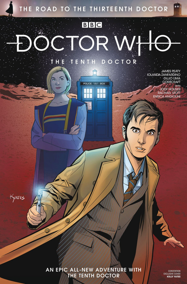 Road To the Thirteenth Doctor #1 (SDCC Cover)