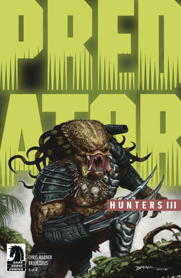 Predator: Hunters III #3 (Blaine Glow in the Dark Ink Cover)