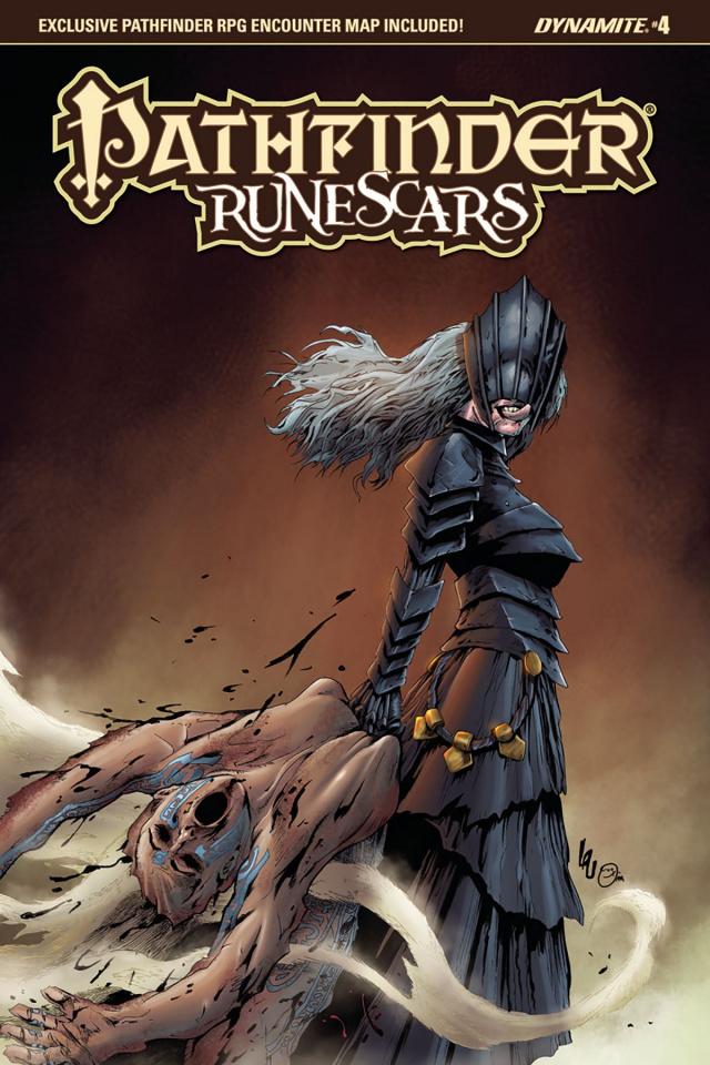 Pathfinder: Runescars #4 (Lau Cover)