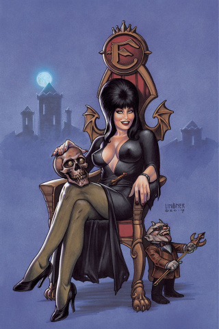 Elvira: Mistress of the Dark #1 (20 Copy Linsner Virgin Cover)