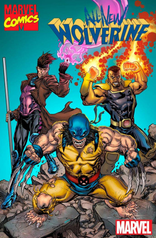 All-New Wolverine #3 (Raney Marvel '92 Cover)