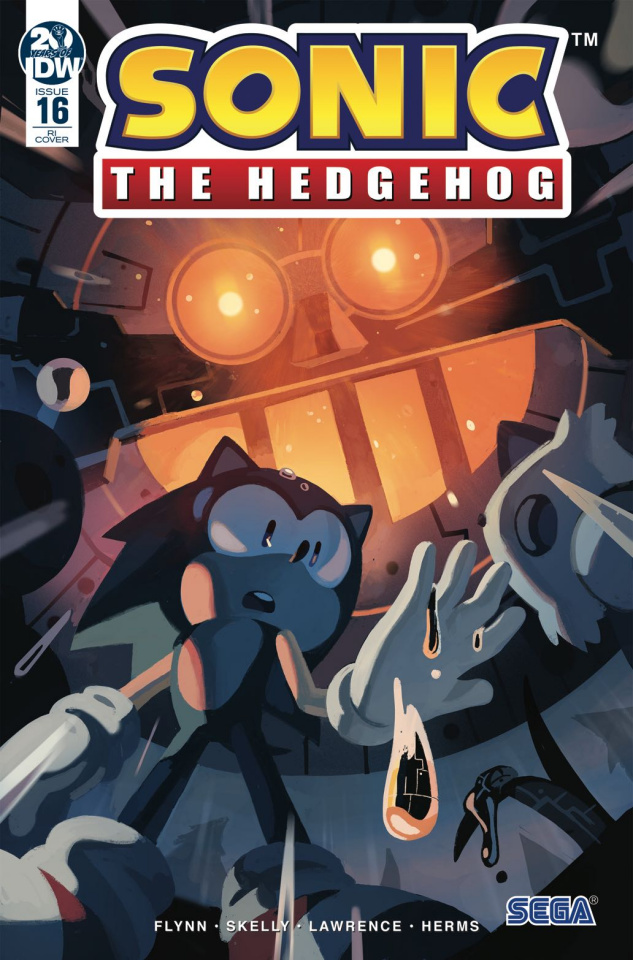 Sonic the Hedgehog #16 (10 Copy Fourdraine Cover)