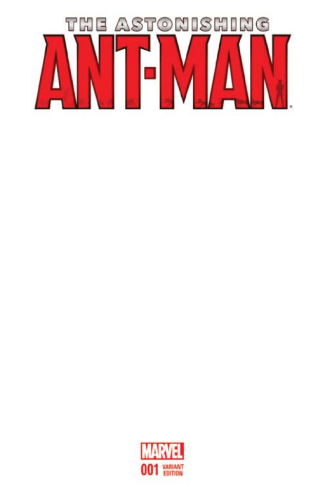 Astonishing Ant-Man #1 (Blank Cover)