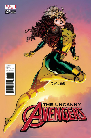 Uncanny Avengers #25 (X-Men Card Cover)