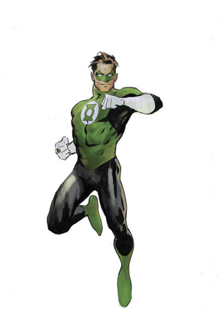 Hal Jordan and the Green Lantern Corps: Rebirth #1 (Variant Cover)