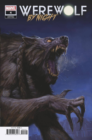 Werewolf by Night #4 (Gist Cover)